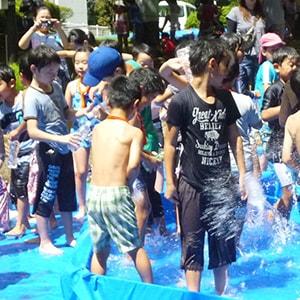 ロープや水遊びで楽しむ「加瀬山で遊ぼう」先着50名小学生まで