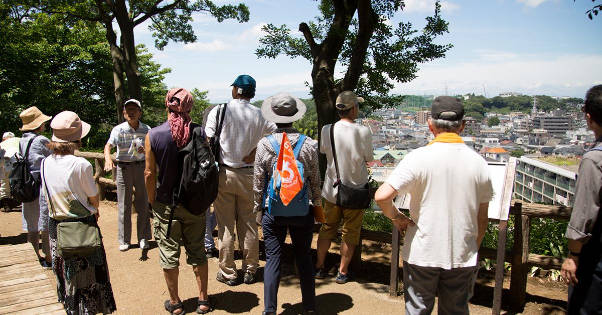 日吉の「わッ」気まぐれカフェ 加瀬山の歴史散歩