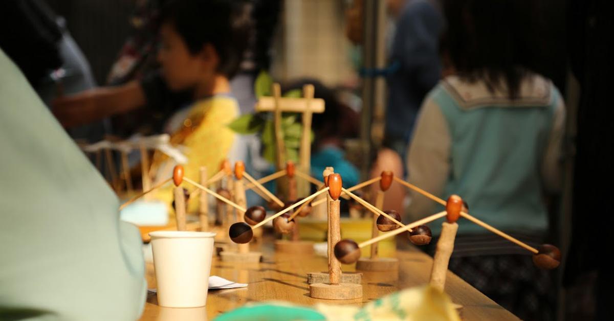 竹トンボづくり体験